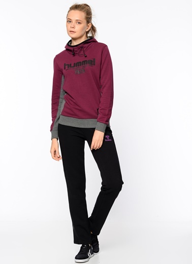 Kapüşonlu Polar Sweatshirt-Hummel